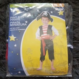 New! Disguise 2 PC Pirate Costume
